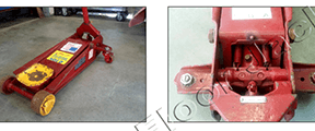 Take Pictures of a Floor Jack