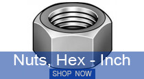 Nuts Hex - Inch