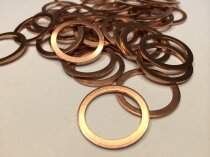 Copper Sealing Rings - Metric (Crush Washer)