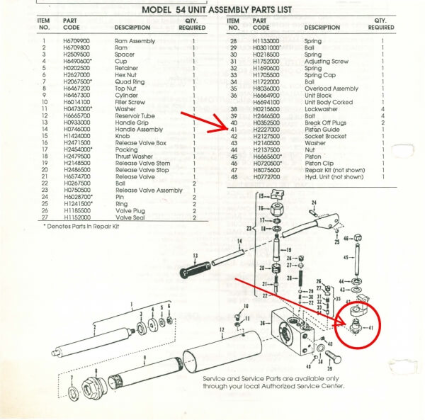 Floor Jack Parts Breakdown – Jerusalem House